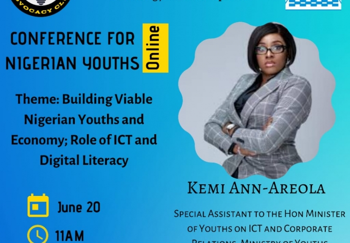 DLA Club, CITAD Set To Host Online Conference for Nigerian Youths