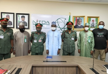 NITDA, Army Open Talks Over Partnership on Simulation Centre